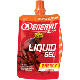 Enervit Sport Liquid Gel Sacoche 18x60ml, Orange